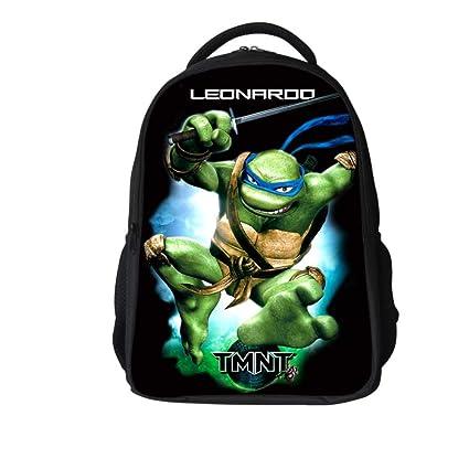 Ou lida Ninja Turtle Bag 3D Print Student Bag Mochila para ...