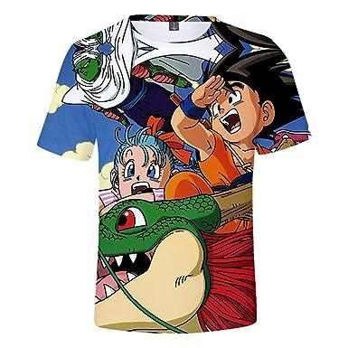 Ywfzzxs Camiseta Tops 3D Camisetas De Moda Undershirt Manga Corta ...
