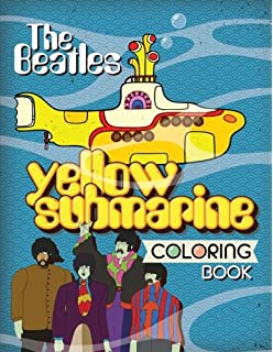 the beatles yellow submarine coloring book for kids activity book - Beatles Coloring Book