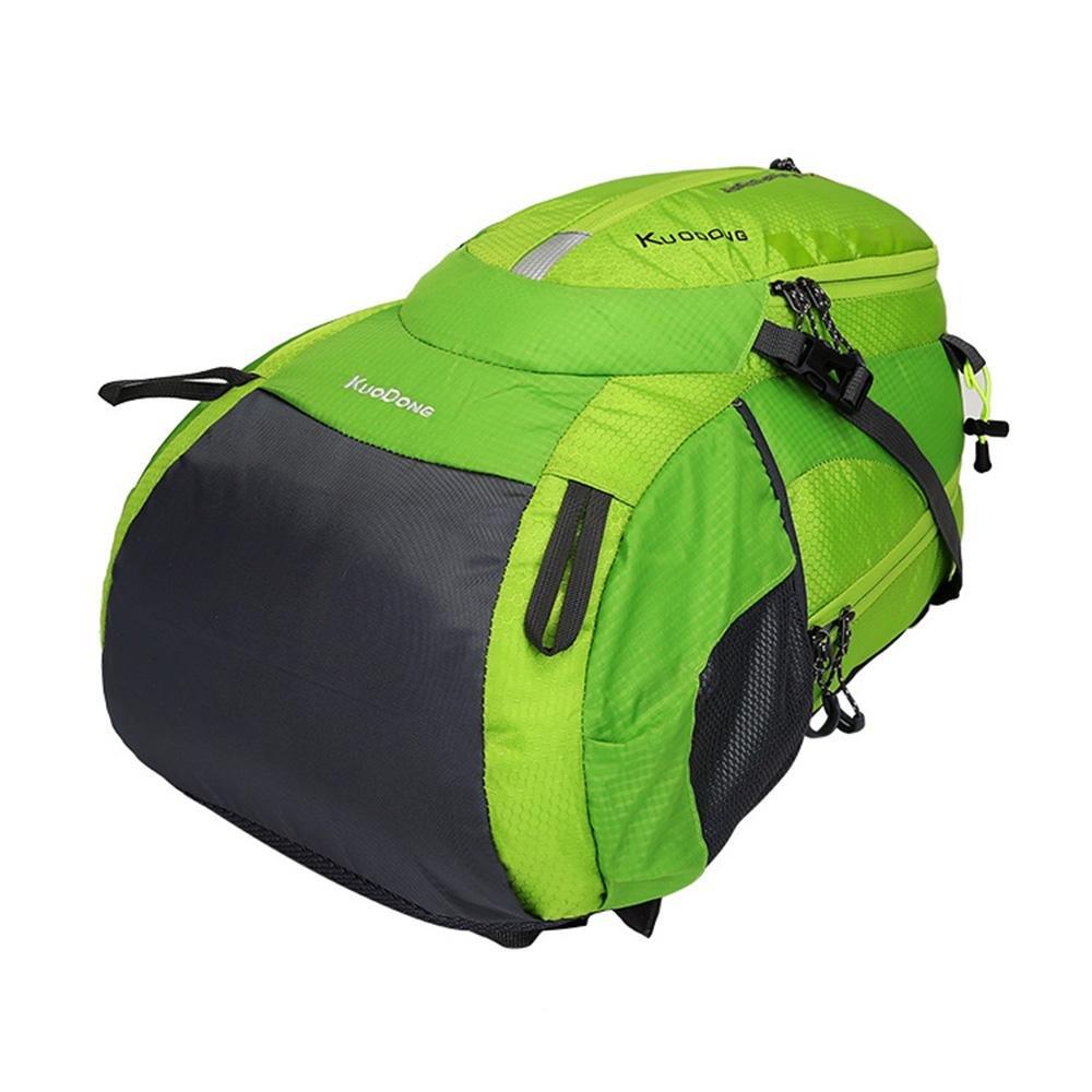 Bandolera doble Bolsa de viaje al aire libre Bolso impermeable del ocio Mochila para acampar , black: Amazon.es: Deportes y aire libre