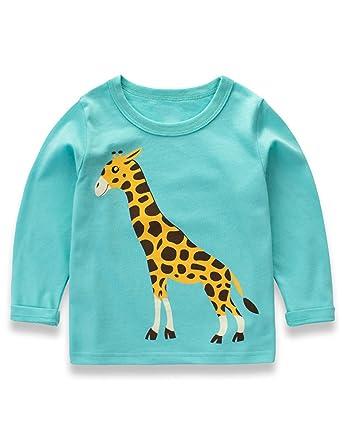 d18d18ff Toddler Baby Long Sleeves Cute Shirt Sweater Tops for Little Girls 5t