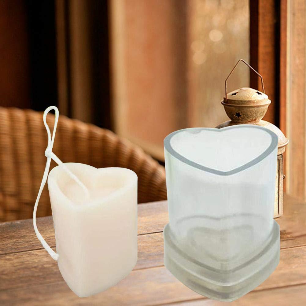 Silikonform aus Kunstharz Aromatherapie basisago Modell zur Herstellung von Kerzen DIY Werkzeuge Handarbeit Kerzen-Form