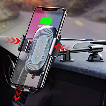 Zyx QI Cargador Inalámbrico Gravity Holder para iPhone X 8 ...