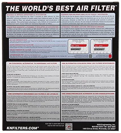 K/&N HA-6414 AIR FILTER