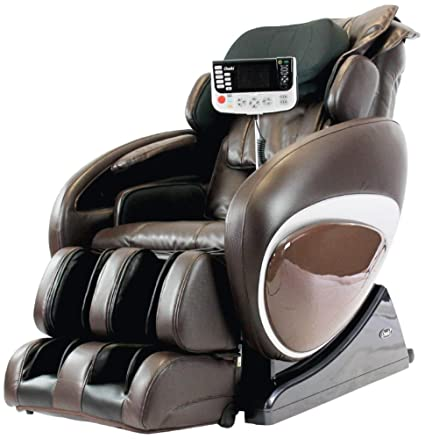 Osaki OS4000TB Model OS 4000T Zero Gravity Massage Chair, Brown Color,  Computer Body
