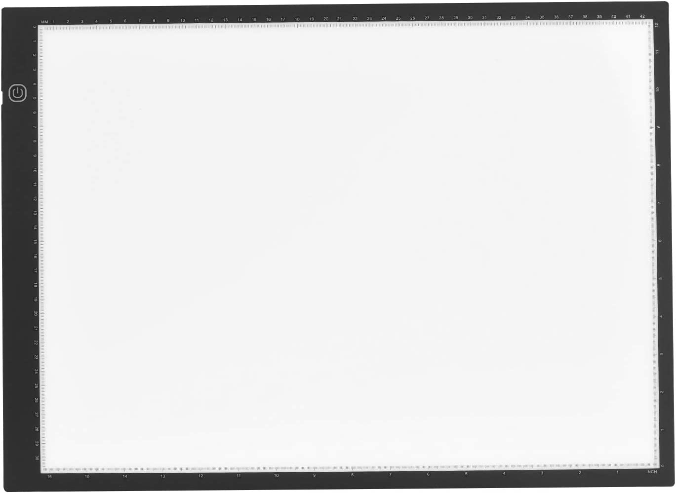 Ajcoflt A3 Caja de luz LED Pad Tracer Tableta gr/áfica Trazado Tablero de dibujo Tablero Atenuaci/ón continua con cable USB para artista Animaci/ón Dise/ño Boceto Caligraf/ía