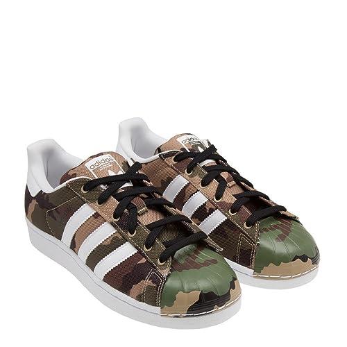 Adidas Originals Men's Superstar Shell Toe Camo Shoes S75183
