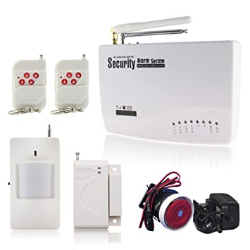 Nueva Wireless/Wired Teléfono SIM GSM Home Antirrobo Alarma ...