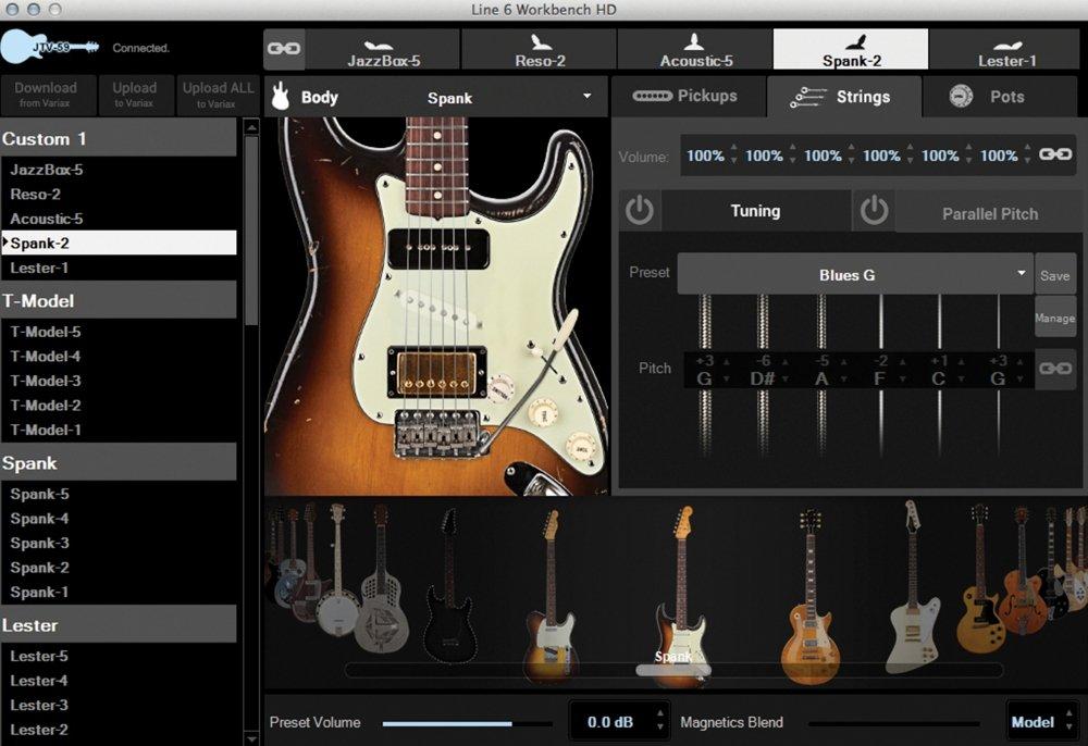 Line 6 - Jtv-89f roja guitarra electrica: Amazon.es: Instrumentos musicales