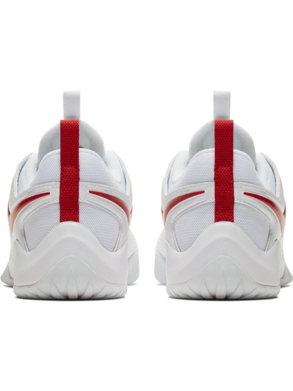 Nike Women's Zoom Hyperface 2 B(M) Volleyball Shoes B0761YY16W 8.5 B(M) 2 US White/University Red 46c030