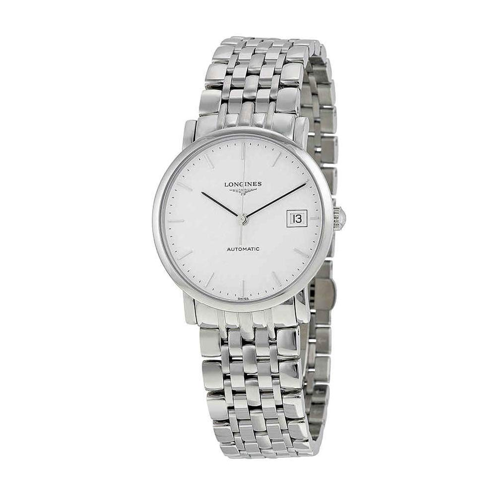 81b7cfdb194 Amazon.com: Longines Elegant Collection L4.809.4.12.6 Automatic White Dial  35MM Midsize: Watches
