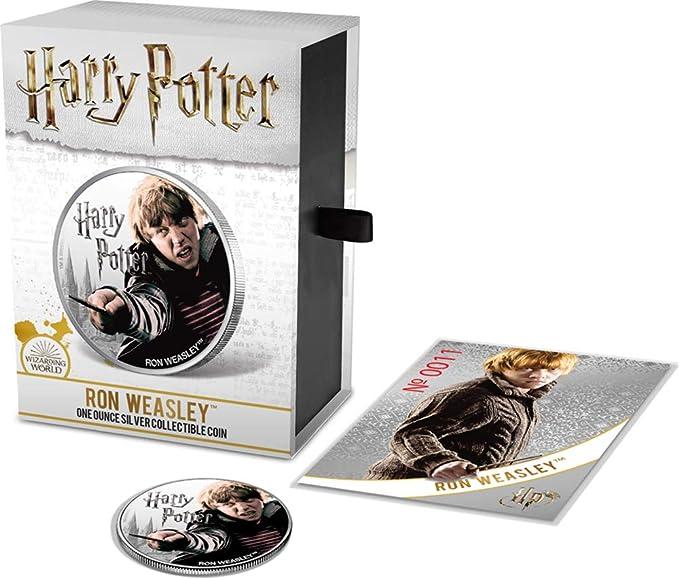 Power Coin Ron Weasley Wizarding World 1 Oz Moneda Plata 1 ...