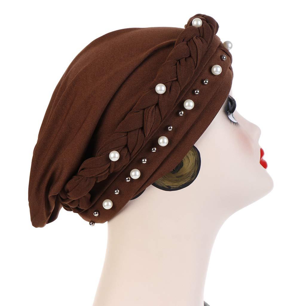 XueXian Kopftuch Damen Chemo,Sommer Hut Elegant Headwear Wesentliche Kopftuch f/ür Haarausfall,Krebs,Chemo