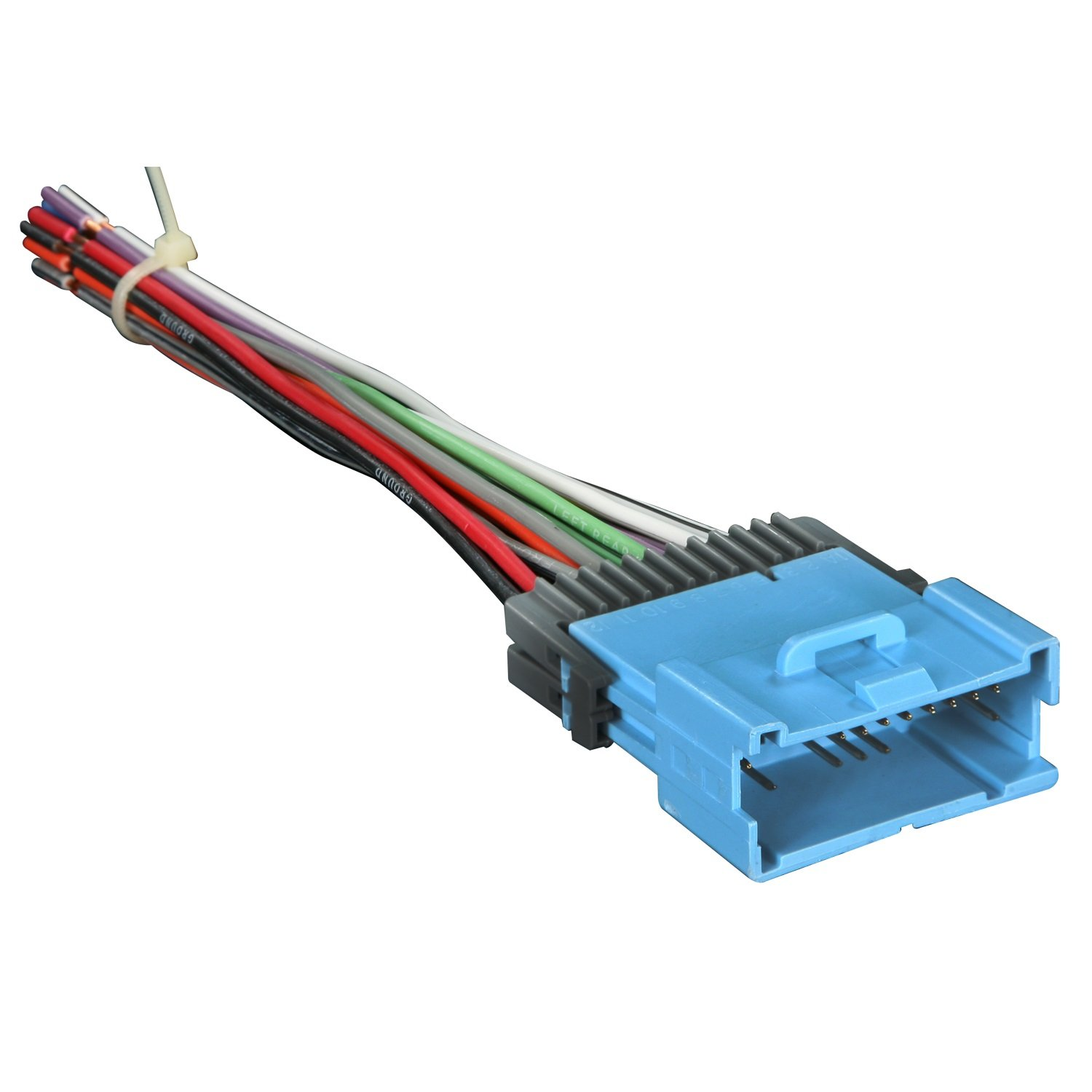 61ruWw 2aJL._SL1500_ amazon com metra 70 2102 radio wiring harness for gm 04 05 car GM Wiring Color Codes at crackthecode.co
