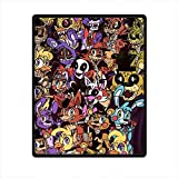 Wendy home Custom Animatronics at Freddy's Five Nights Custom Blanket 58inches x 80inches (Large) Fleece Throw Blanket Indoor / Outdoor Blanket