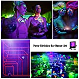 UV Black Lights for Parties, 2 Pack 50W UV Led