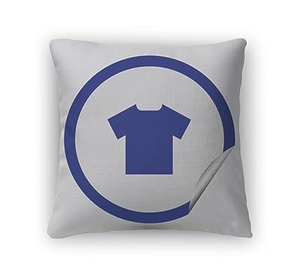 Gear New Throw Pillow Accent Decor, Tshirt Icon Web Design Stile, 20u0026quot;  Cover