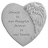 Kay Berry 8905 Winged Heart Always in Our Thoughts… Decorative Stone, Multicolor Review
