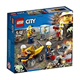 Lego Mining Team Blow up the Rock Pile and Discover Gold