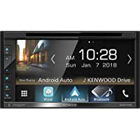 """Kenwood 6.8"""" Double-DIN In-Dash DVD Receiver with Bluetooth"""