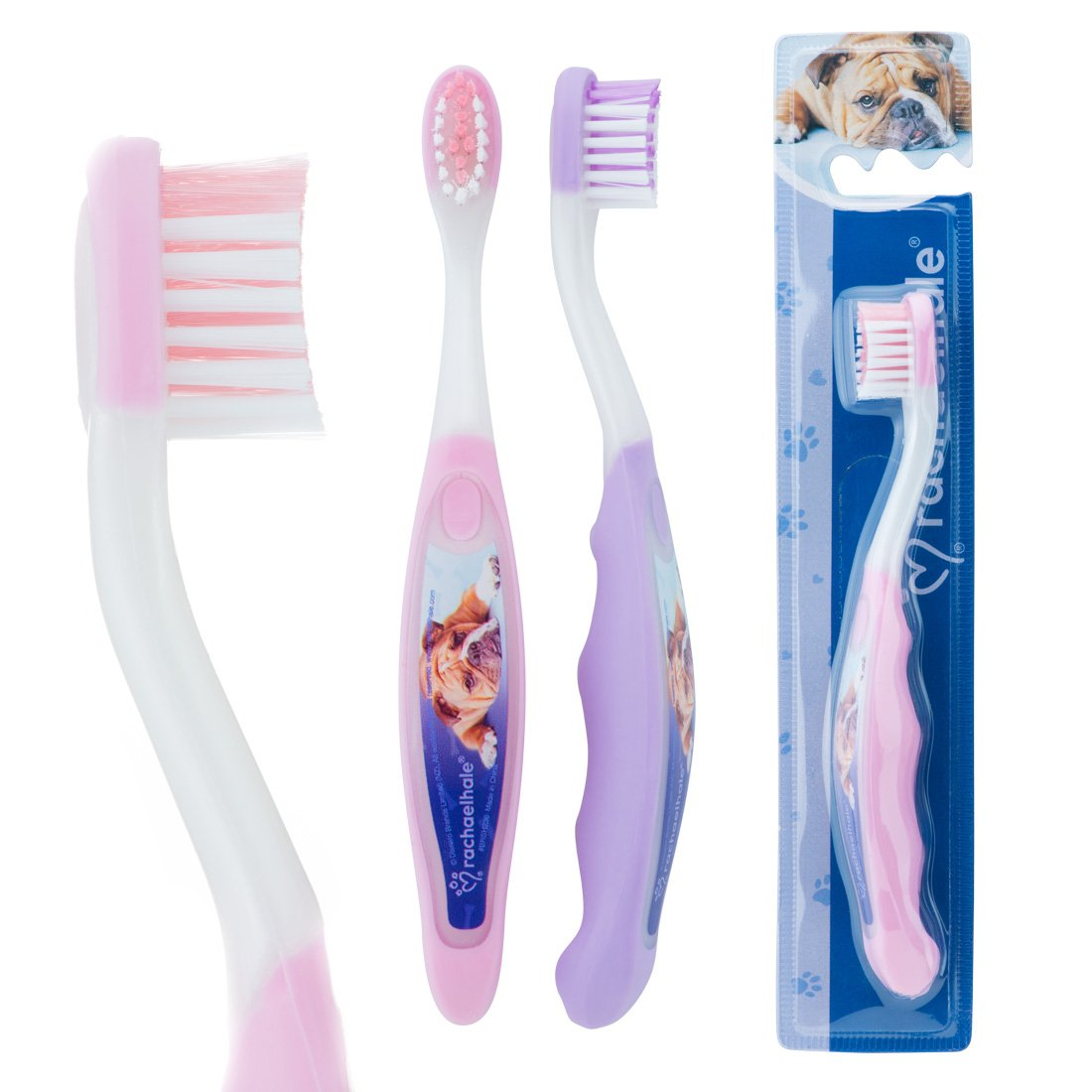SmileCare Rachael Hale Toddler Toothbrushes - Dental Hygiene Products - 48 per Pack SmileMakers