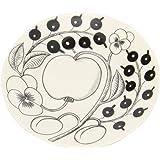 【Arabia】 アラビア ブラックパラティッシ PARATIISI BLACK&WHITE 64 1180006678-5 ソーサー(皿) 16.5cm Saucer 並行輸入品 新生活 [並行輸入品]
