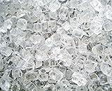 Fireglass Fireplace Fire Pit Glass ~1/4″ Starfire clear, 10 Lbs Review