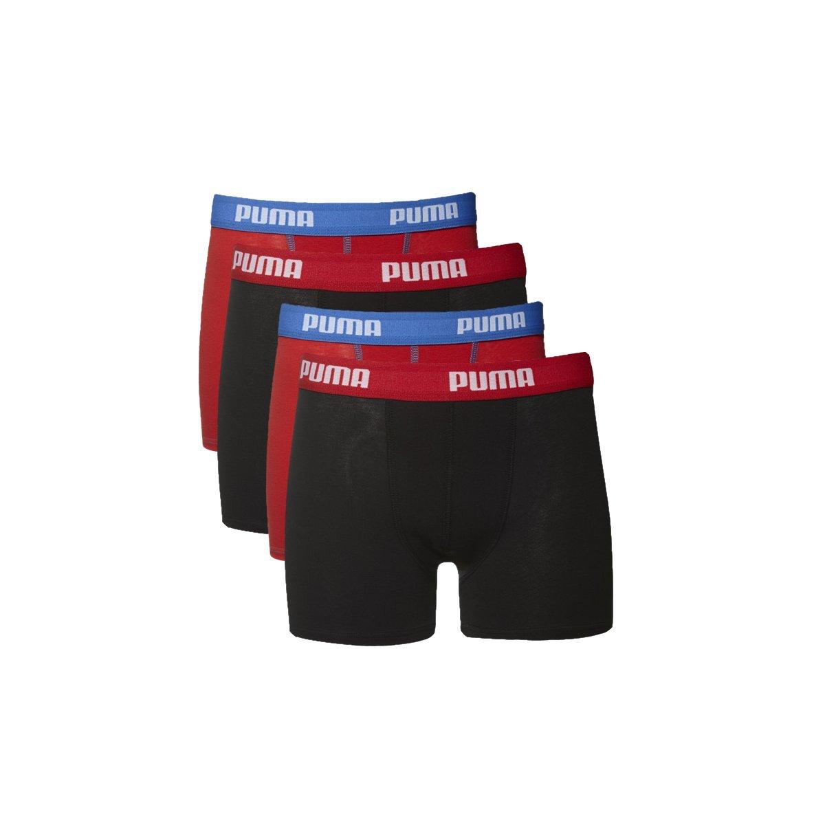 confezione da 4 Boxer per bambini,boxer per ragazzi Puma in 95/% cotone di qualit/à indumento intimo della collezione 2016//2017