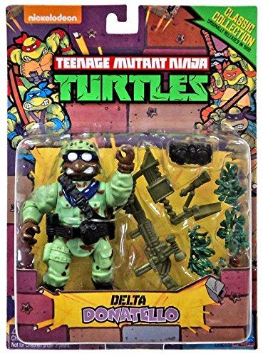 Teenage Mutant Ninja Turtles, Classic Collection, Delta Donatello Action Figure, 4 Inches