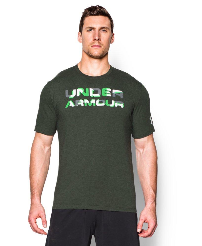 Under Armour Herren UA gestapelt Wordmark T-Shirt