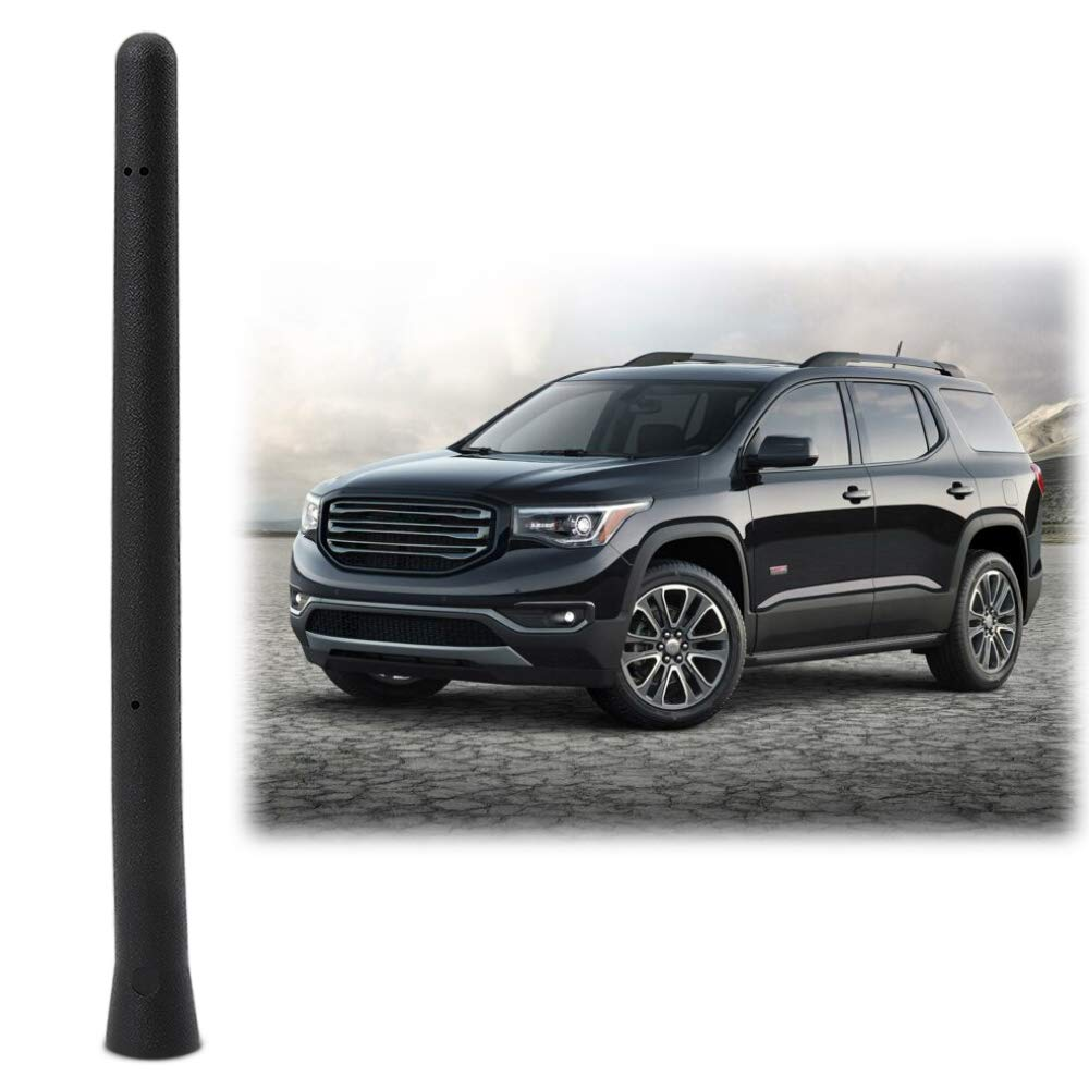 6 3//4 INCH Antenna Mast Compatible Fit GMC Acadia Chevy Equinox Traverse Short Antenna Accessories Thie2e