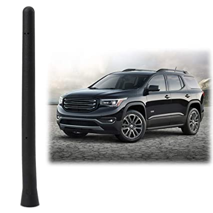 6 3/4 INCH Antenna Mast Compatible Fit GMC Acadia Chevy Equinox Traverse  Short Antenna Accessories