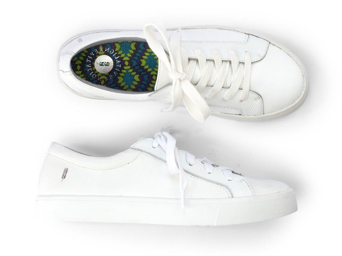 REVITALIGN Women's Alameda Sneaker 7 White by REVITALIGN