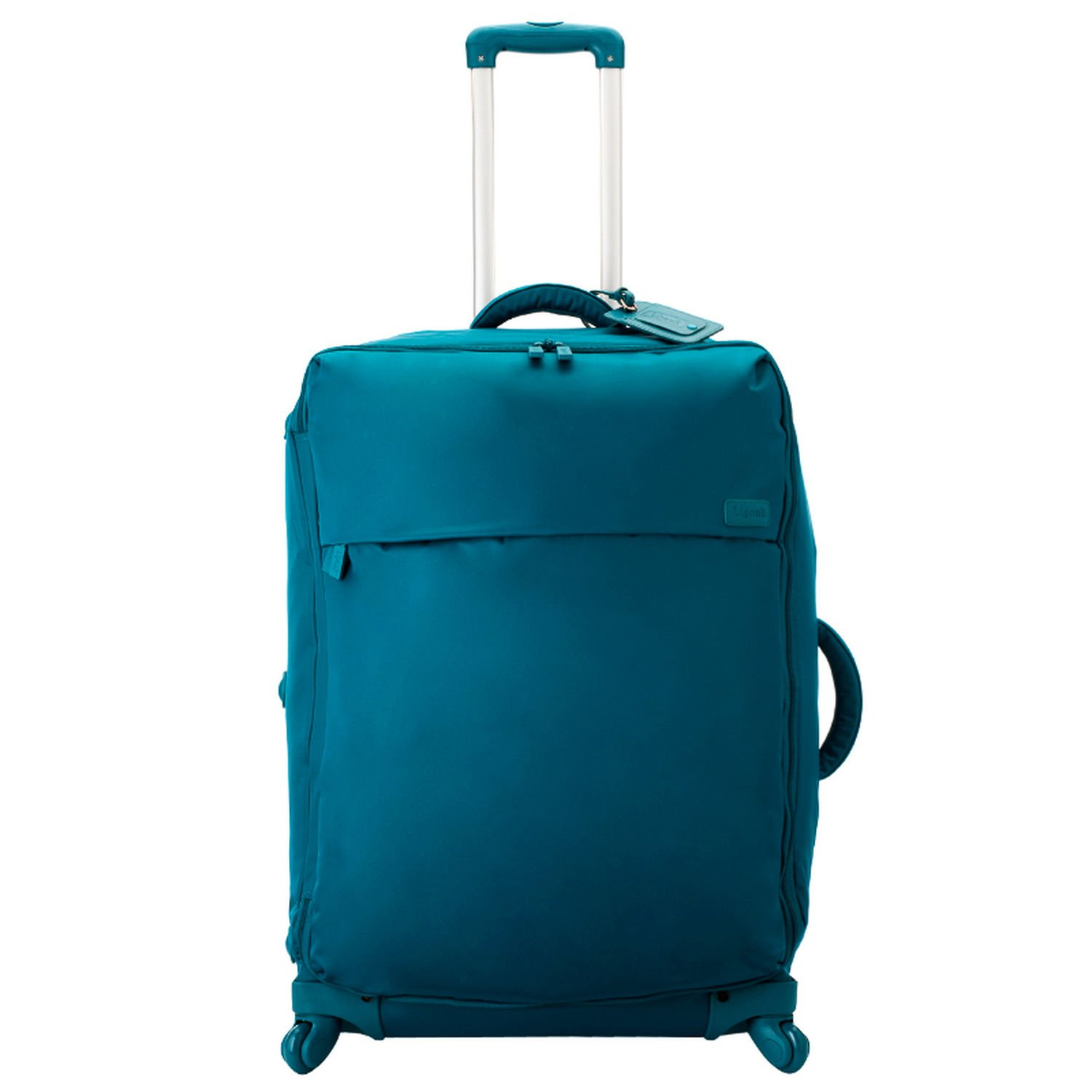 Lipault Original Plume 26'' Spinner Suitcase, Nylon Rolling Luggage in Duck Blue