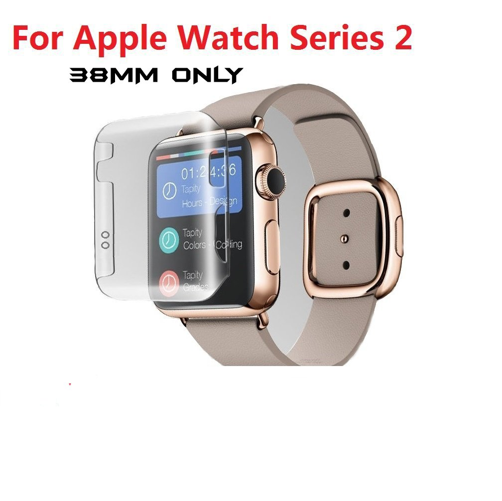 Taslartm 2 in 1 hard pc case cover screen guard protector for taslartm 2 in 1 hard pc case cover screen guard protector for apple watch series 2 38mm only clear watch not included amazon electronics fandeluxe Choice Image