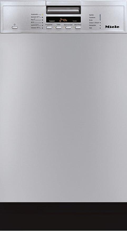 Miele G 4600 SCU - Lavavajillas (Totalmente integrado, Acero ...