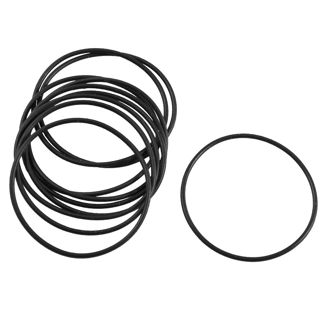 Pack of 10 Metric Buna-N Sealing Gasket uxcell Nitrile Rubber O-Rings 42mm OD 39mm ID 1.5mm Width