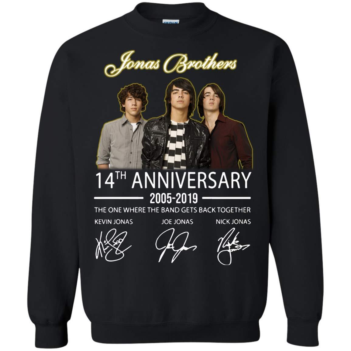 Jonas Brothers 14th Anniversary For Idea For Fan Who Love Jonas Brothers Shirts