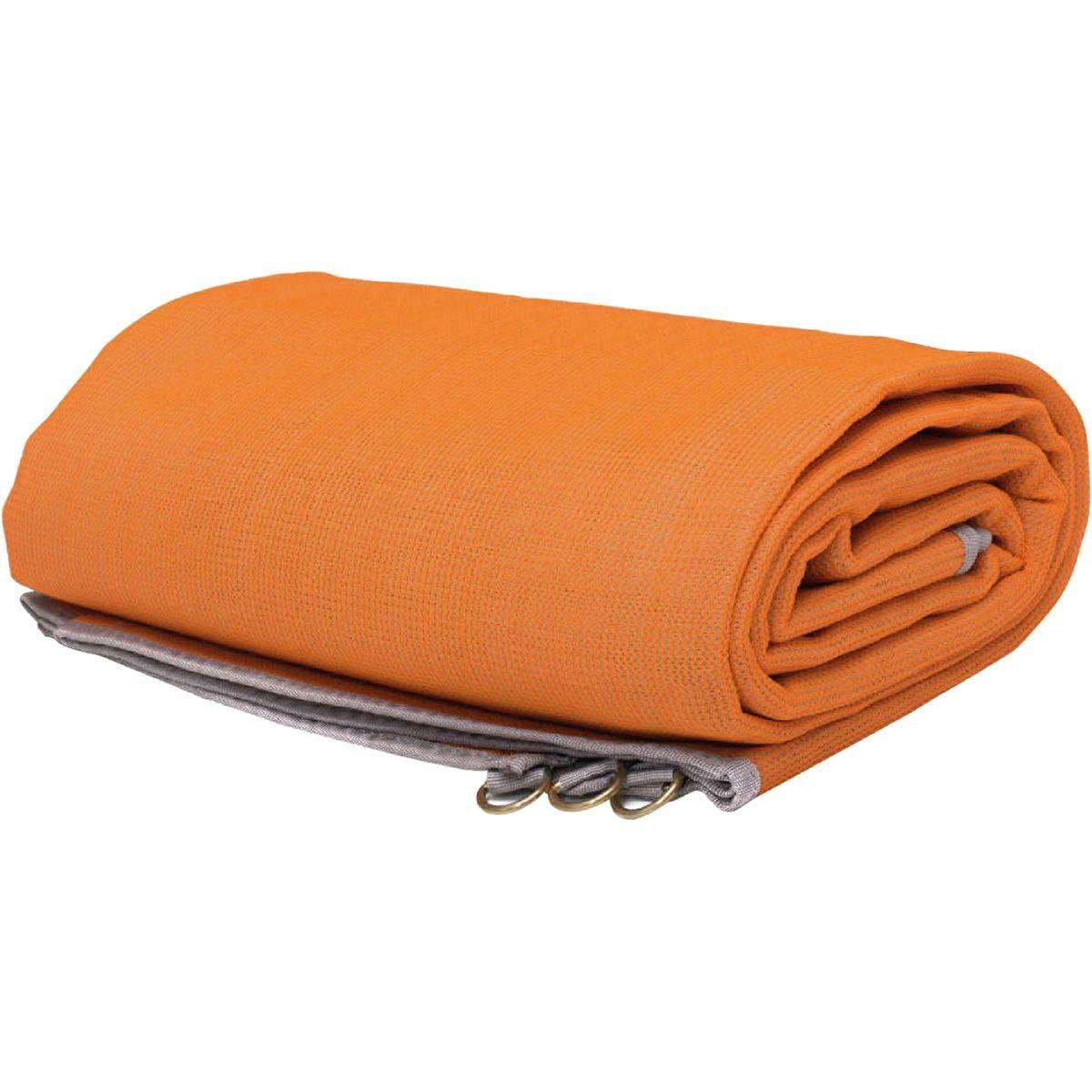 CGear The Mat - Patented Outdoor Camping Mat, Orange, 10' x 10'