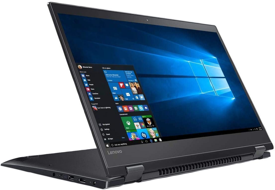 "Lenovo Flex 5 81CA001WUS Intel Core i5 8th Gen 8250U (1.60 GHz) 8 GB Memory 512 GB PCIe SSD Intel UHD Graphics 620 15.6"" Touchscreen 1920 x 1080 Convertible 2-in-1 Laptop Windows 10 Home 64-bit -"