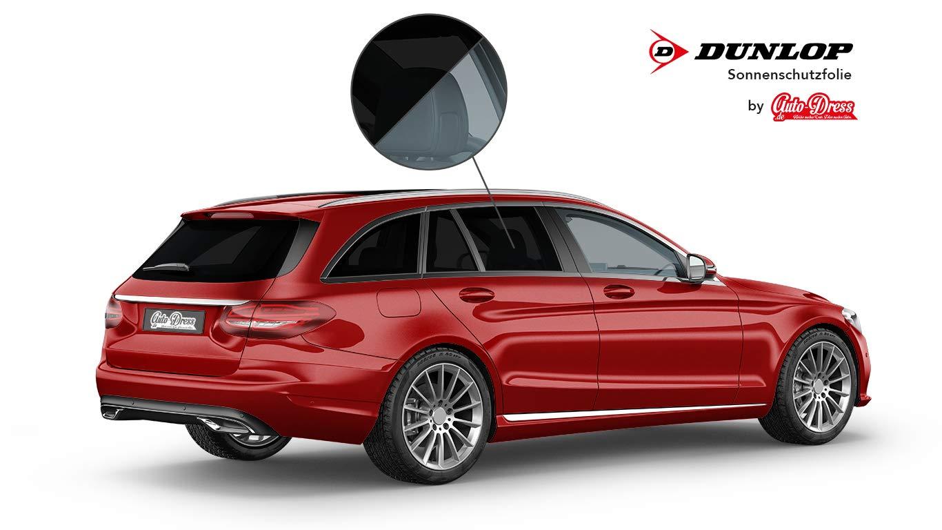 Auto T/önungsfolie Sonnenschutzfolie 76x300cm 75/% tief-schwarz Fenster-Scheiben