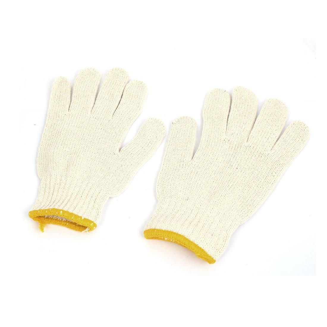 eDealMax 12 paires de Protection ESD antistatique Gants Coton fil de Travail