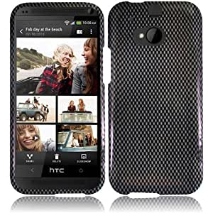 For HTC One 2 M8 Cover Case + LCD Screen Protector (Carbon Fiber)