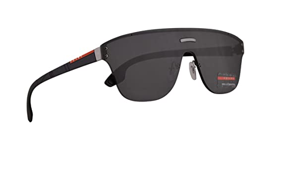 da3616cd66090 Image Unavailable. Image not available for. Color  Prada PS57TS Sunglasses  Gunmetal w Grey 43mm Lens 5S05S0 PS ...