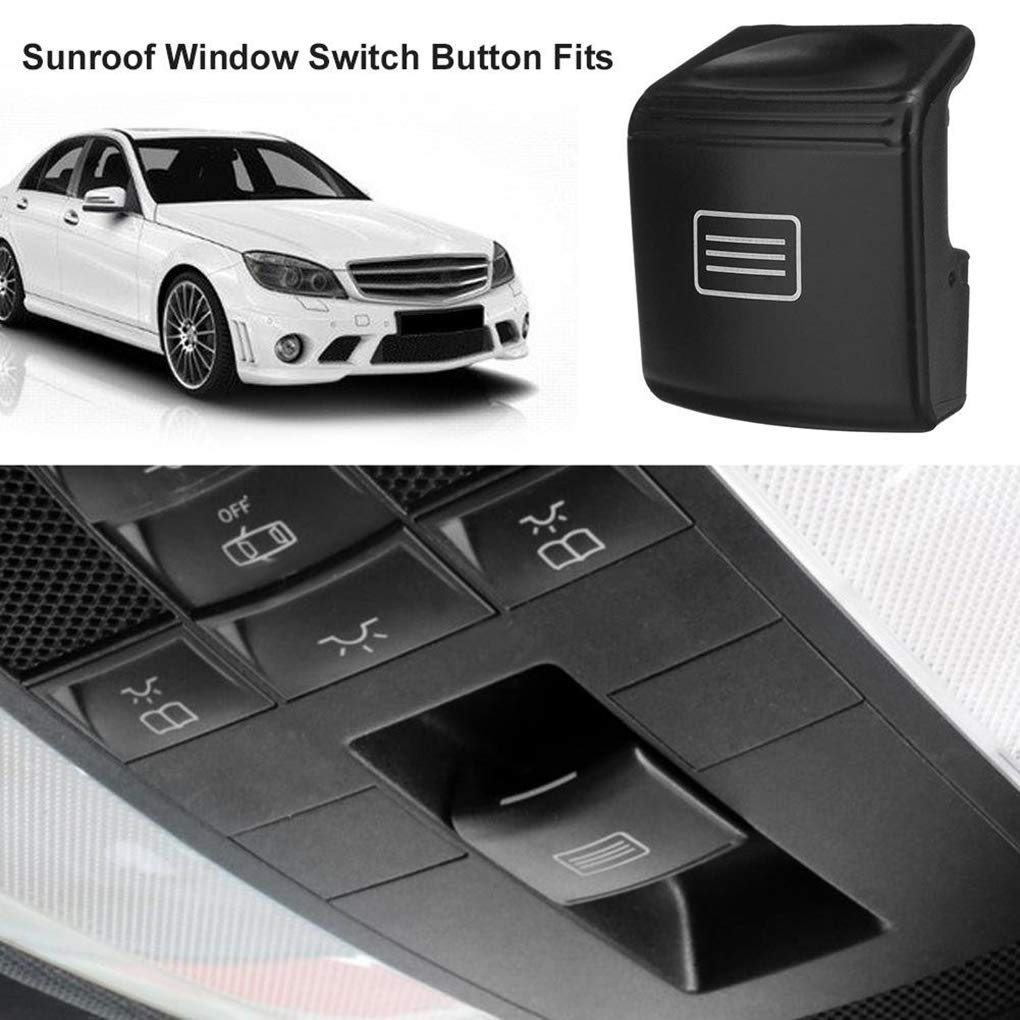 Pandiki Toit ouvrant la fen/être Panneau de Toit Commutateur de Commande de Remplacement Bouton pour Mercedes Benz W204 W212 C200 GLK300 E300