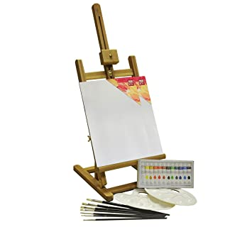 Easel set Acrylic Painting Box 24 Pieces