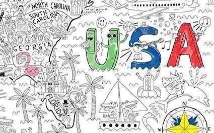 Amazon.com: Pirasta Really Big Coloring Poster (63\