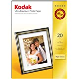 Kodak Ultra Premium Photo Paper, High-Gloss, A4, 210 x 297 mm, 20 Sheets