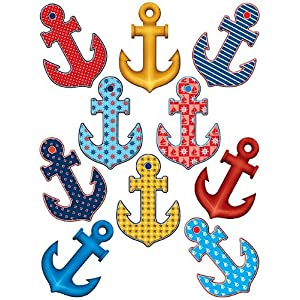 61rumSeXP-L._SS300_ Anchor Decor & Nautical Anchor Decorations