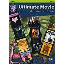 Ultimate Movie Instrumental Solos: Trumpet, Book and CD